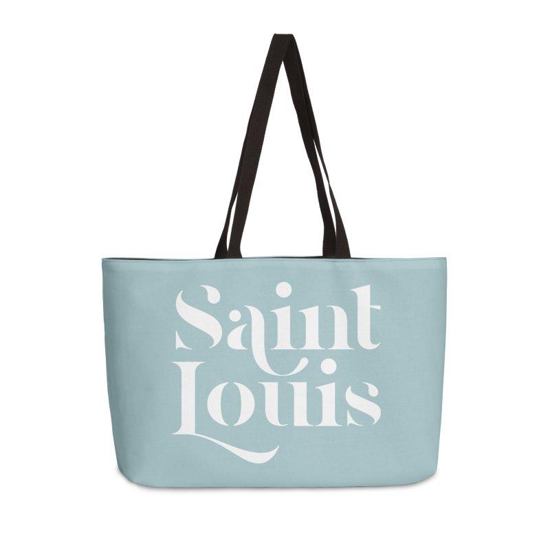 SAINT LOUIS Accessories Weekender Bag Bag by Katie Rose's Artist Shop