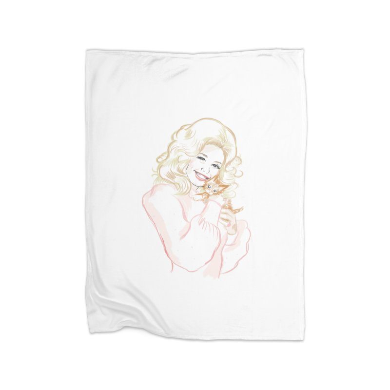 Dolly Home Blanket by Katie Rose's Artist Shop