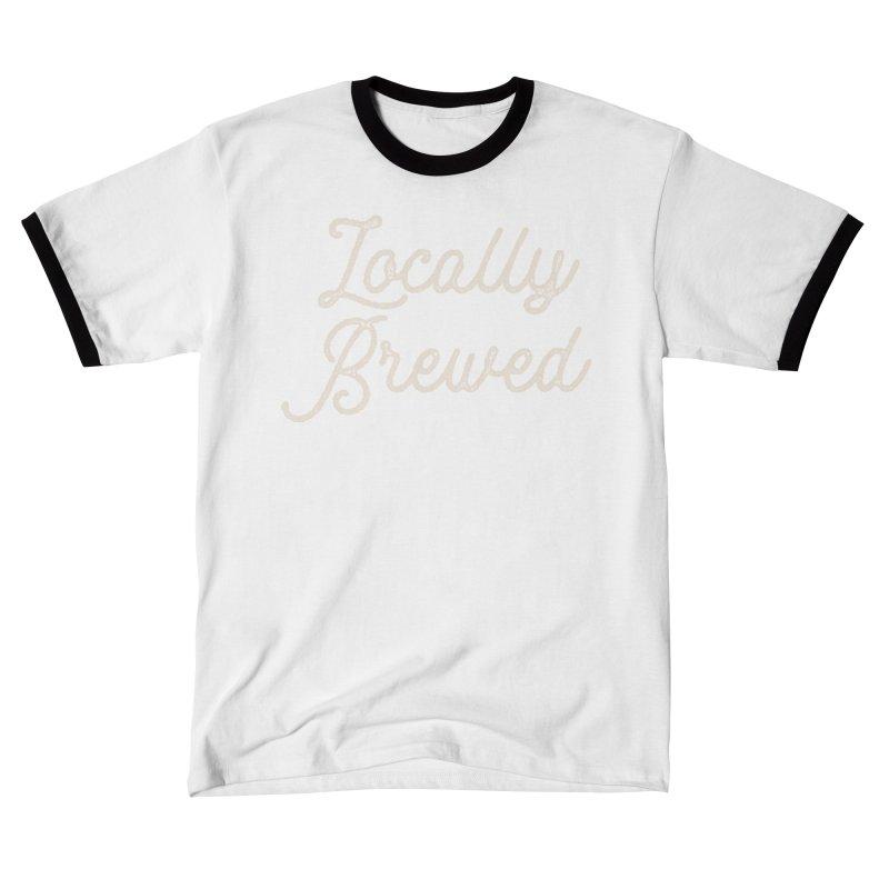 Locally Brewed Men's T-Shirt by Katie Rose's Artist Shop