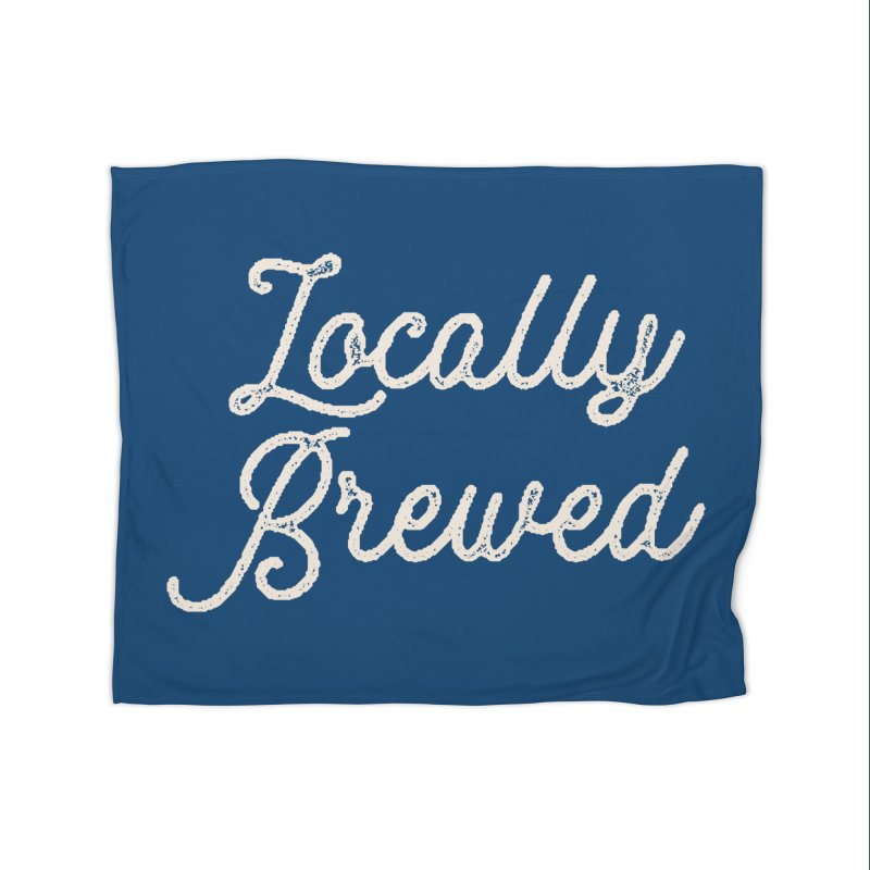 Locally Brewed Home Blanket by Katie Rose's Artist Shop