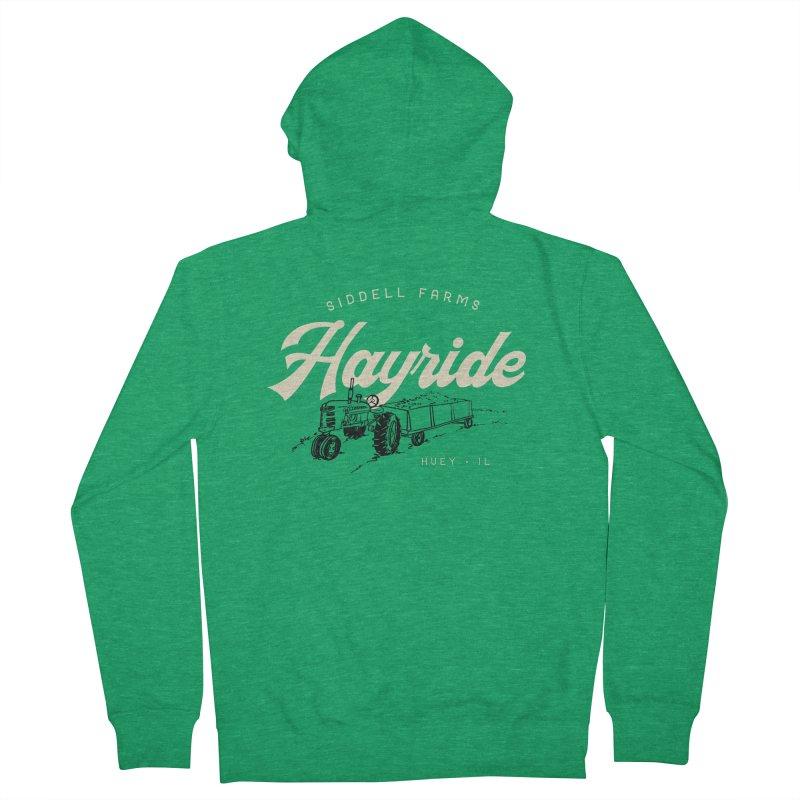 Hayride Men's Zip-Up Hoody by Katie Rose's Artist Shop