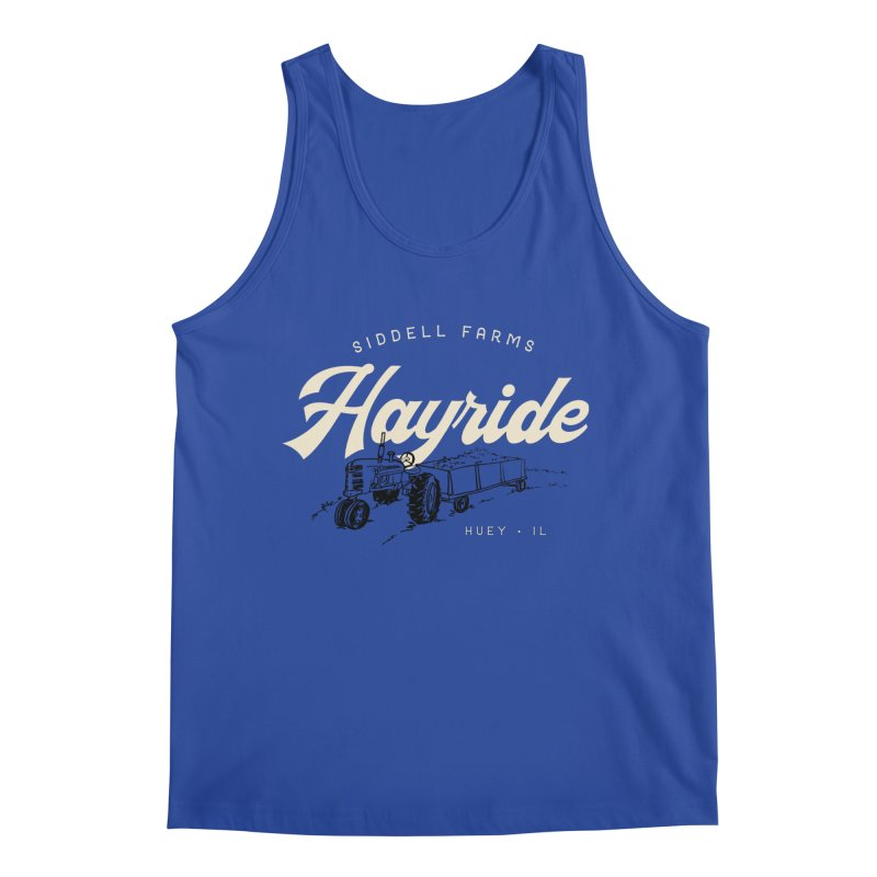 Hayride Men's Tank by Katie Rose's Artist Shop