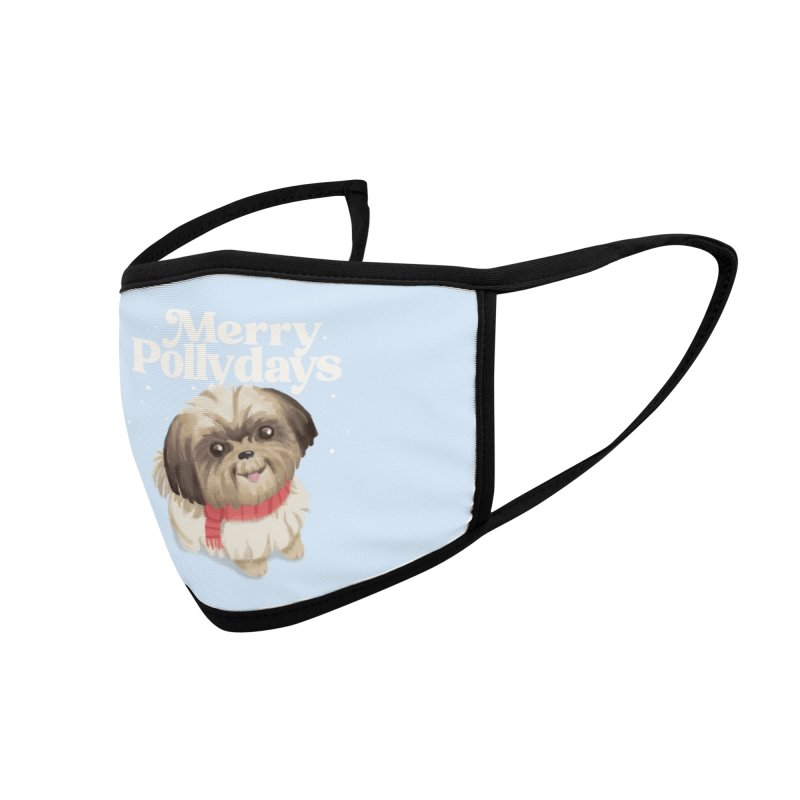Polly Days Accessories Face Mask by Katie Rose's Artist Shop