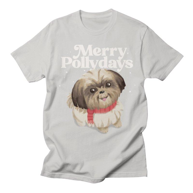 Polly Days Men's T-Shirt by Katie Rose's Artist Shop