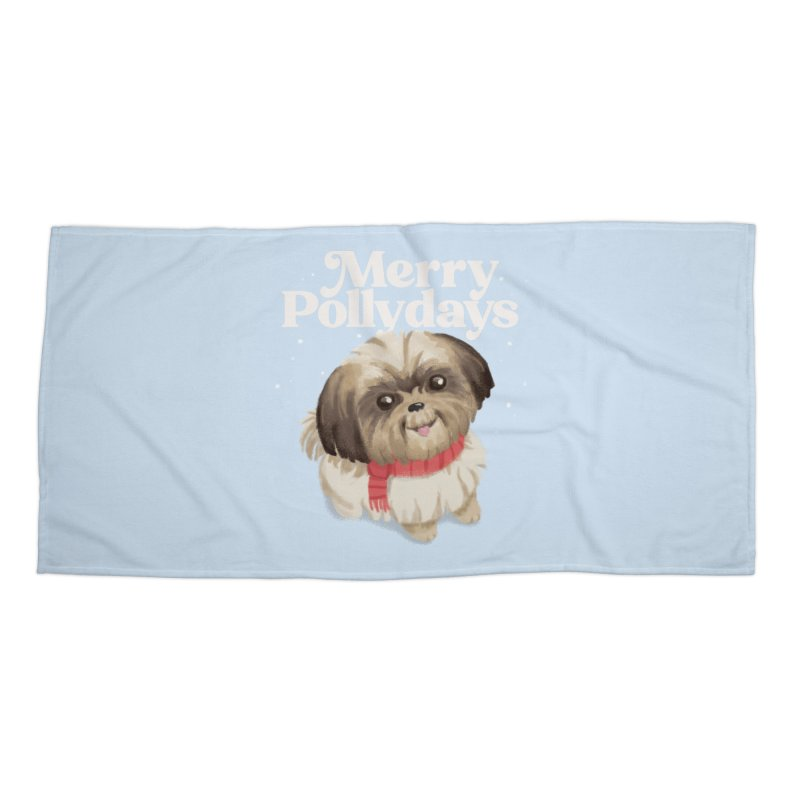 Polly Days Accessories Beach Towel by Katie Rose's Artist Shop