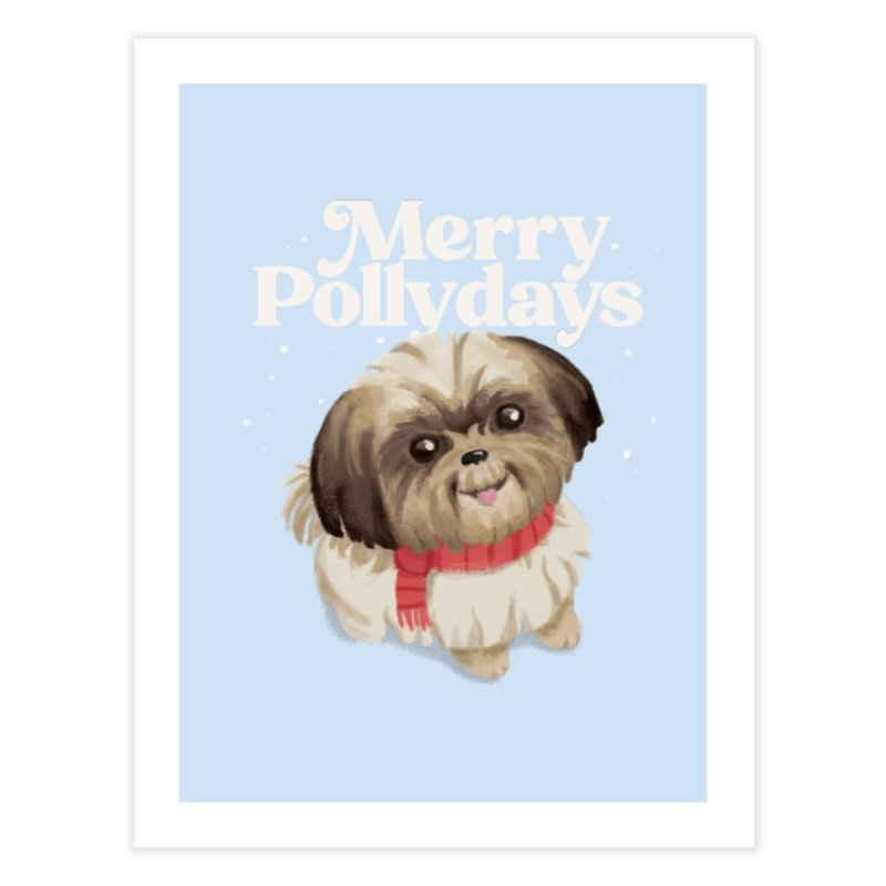 Polly Days Home Fine Art Print by Katie Rose's Artist Shop