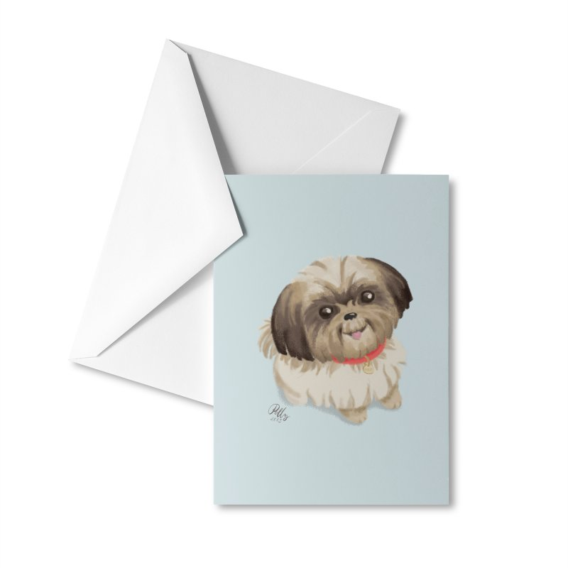 Polly Accessories Greeting Card by Katie Rose's Artist Shop