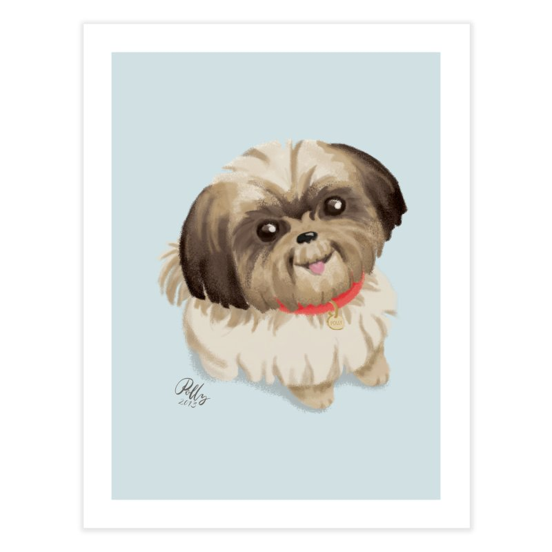 Polly Home Fine Art Print by Katie Rose's Artist Shop