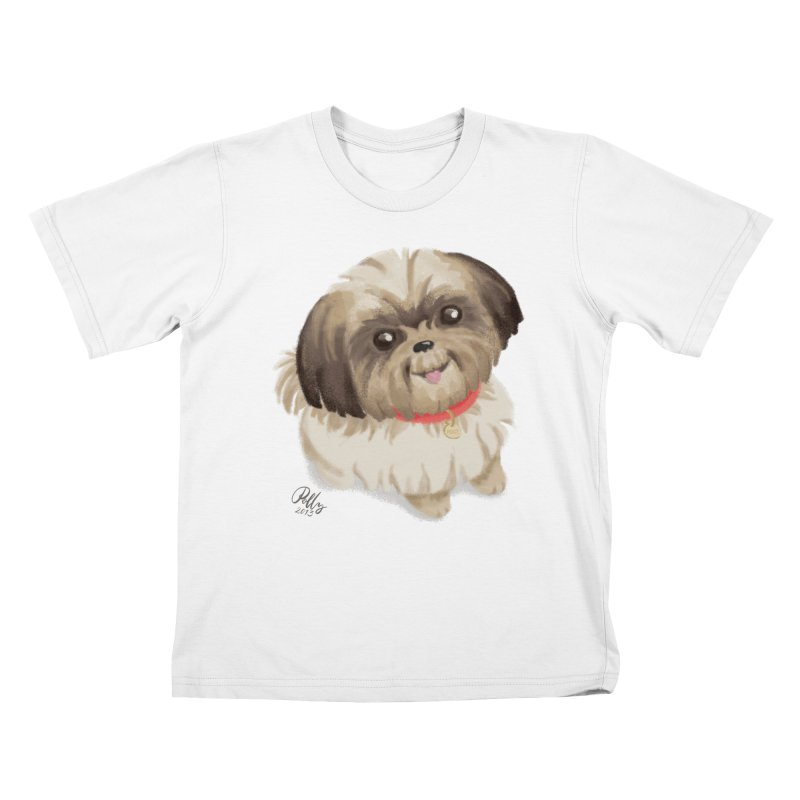 Polly Kids T-Shirt by Katie Rose's Artist Shop