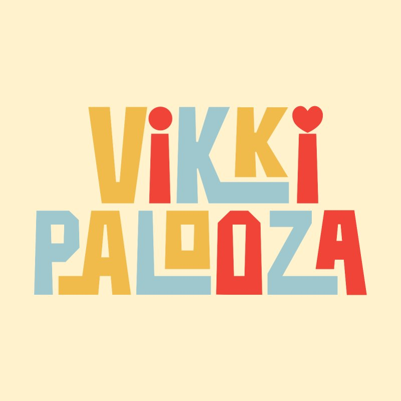Vikkipalooza Kids Baby T-Shirt by Katie Rose's Artist Shop