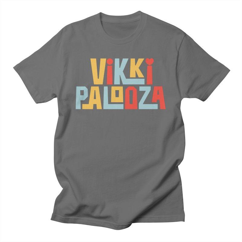 Vikkipalooza Men's T-Shirt by Katie Rose's Artist Shop