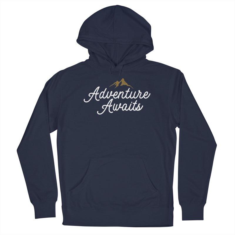 Adventure Awaits Men's Pullover Hoody by Katie Rose's Artist Shop