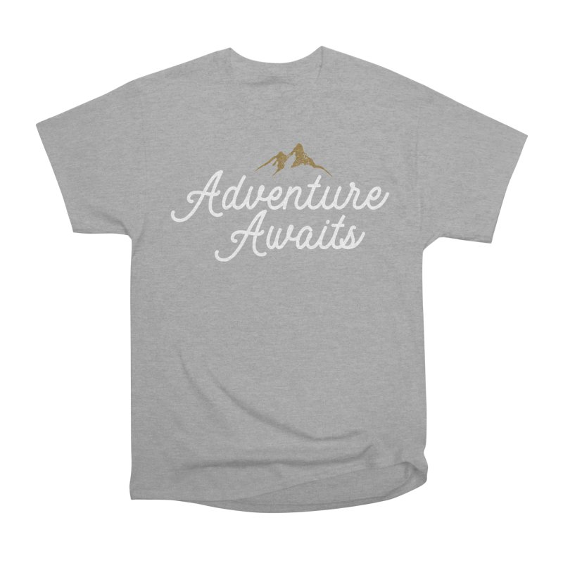 Adventure Awaits Men's Heavyweight T-Shirt by Katie Rose's Artist Shop