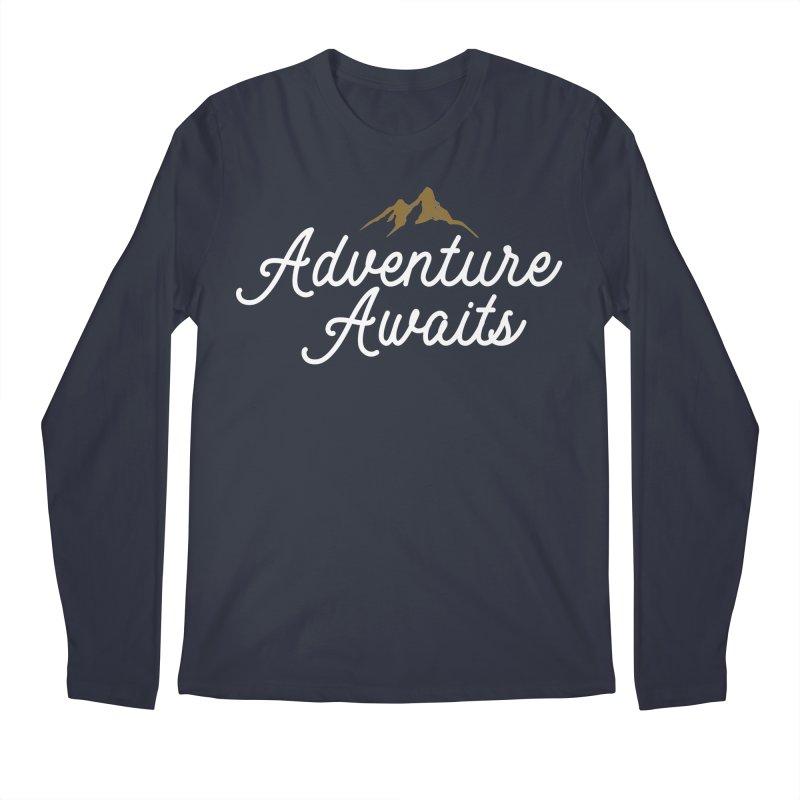 Adventure Awaits Men's Longsleeve T-Shirt by Katie Rose's Artist Shop