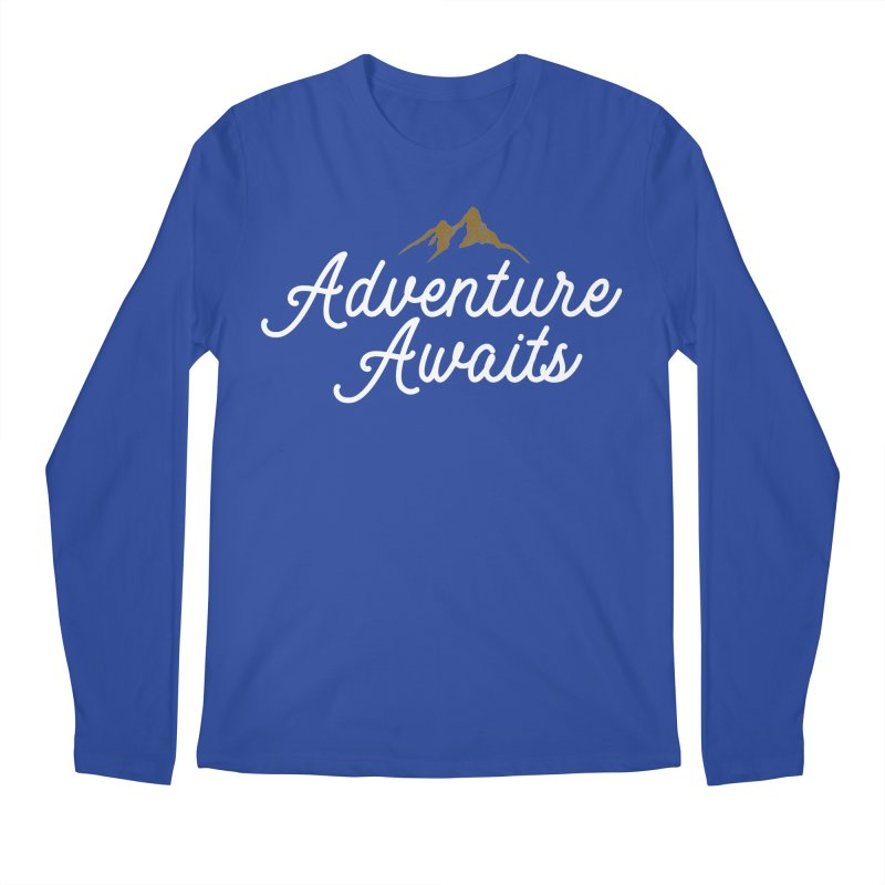Adventure Awaits Men's Longsleeve T-Shirt by Katie Rose's Artist Shop