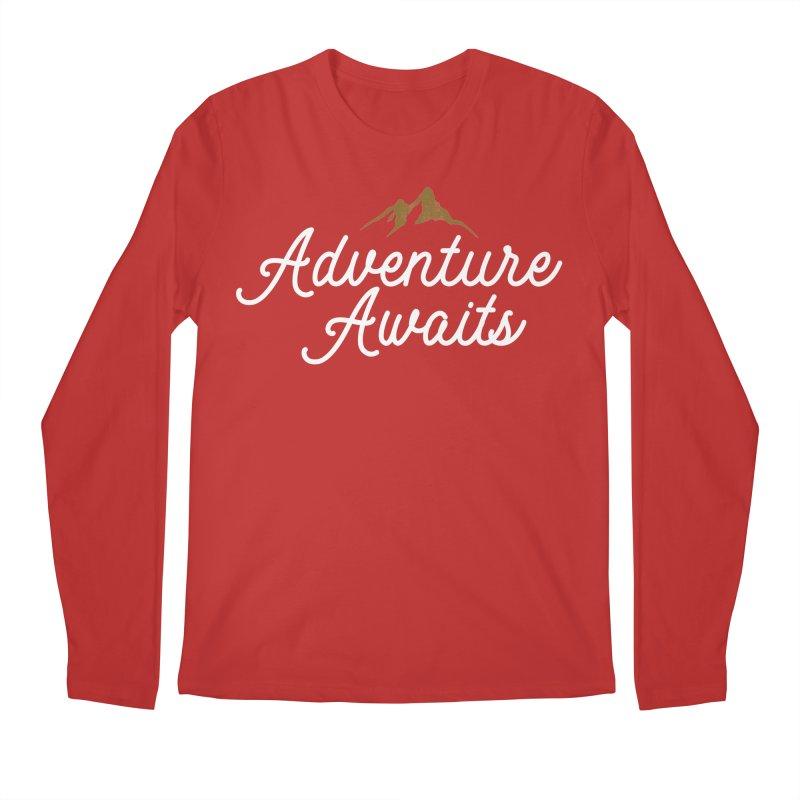 Adventure Awaits Men's Regular Longsleeve T-Shirt by Katie Rose's Artist Shop
