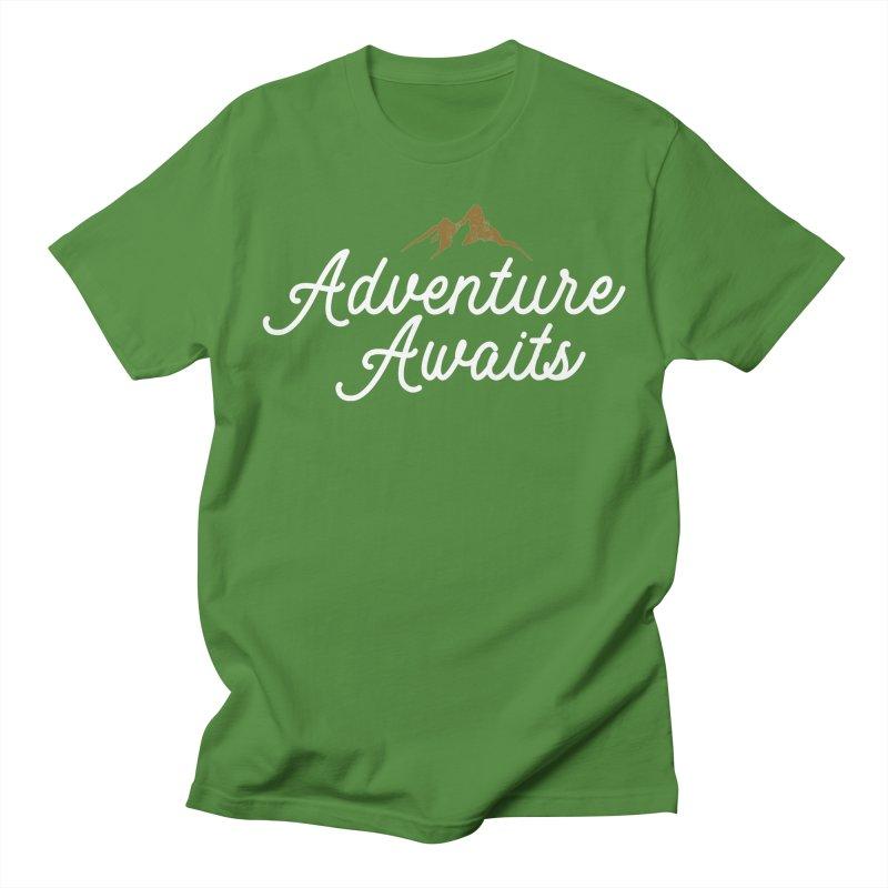 Adventure Awaits Men's Regular T-Shirt by Katie Rose's Artist Shop
