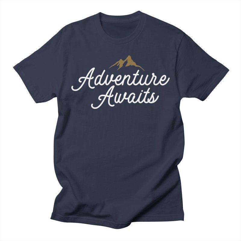 Adventure Awaits Women's Regular Unisex T-Shirt by Katie Rose's Artist Shop