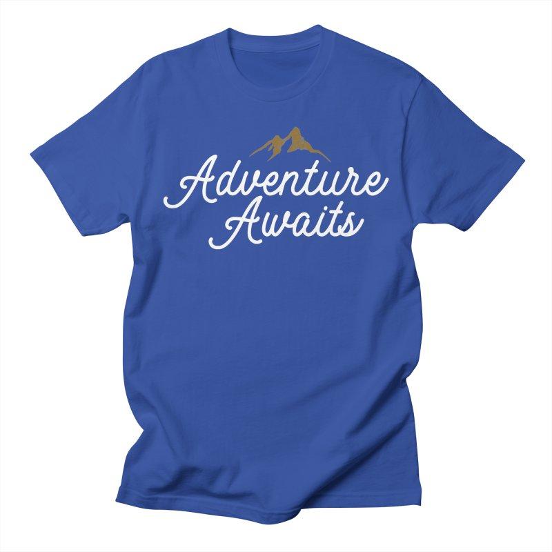 Adventure Awaits Men's T-Shirt by Katie Rose's Artist Shop