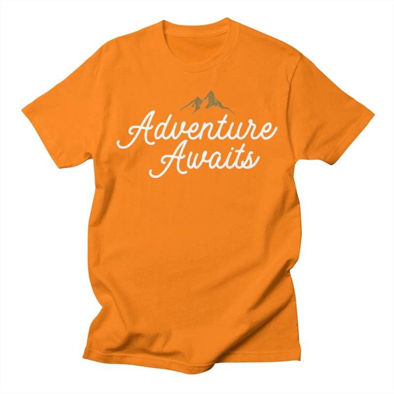 Adventure Awaits Men's Regular T-Shirt by Katie Rose's Artist Shop