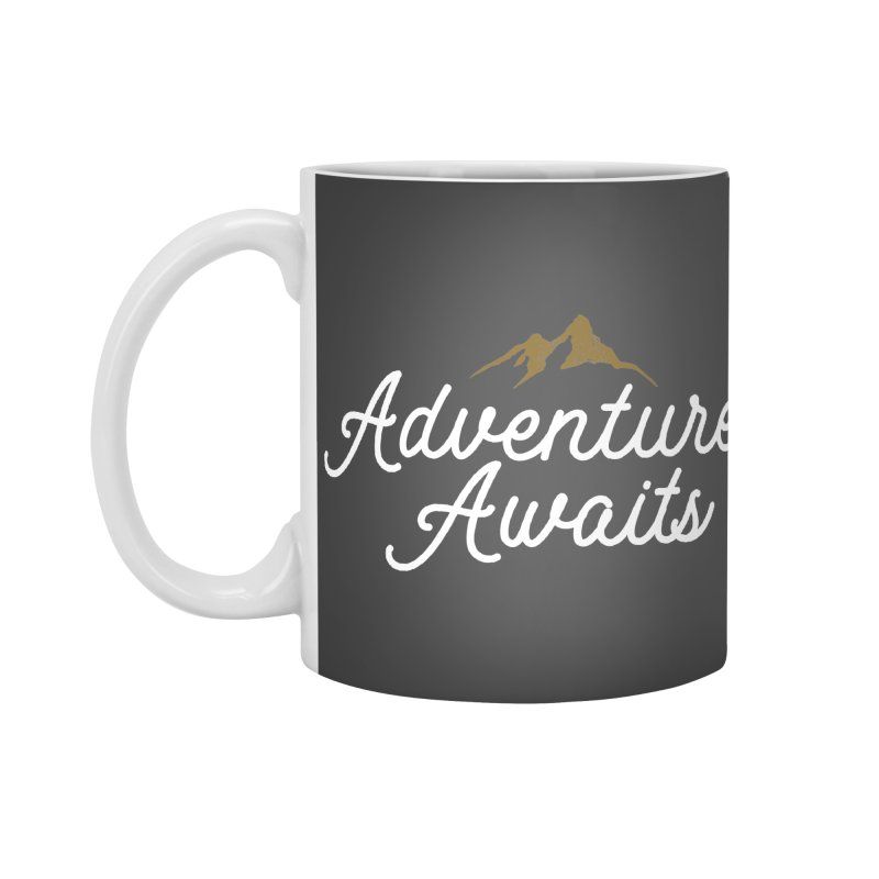Adventure Awaits Accessories Standard Mug by Katie Rose's Artist Shop