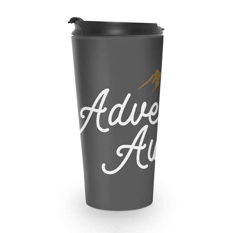 Adventure Awaits Accessories Travel Mug by Katie Rose's Artist Shop