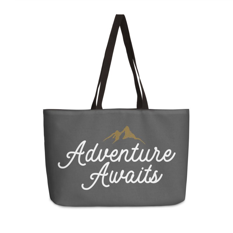 Adventure Awaits Accessories Weekender Bag Bag by Katie Rose's Artist Shop