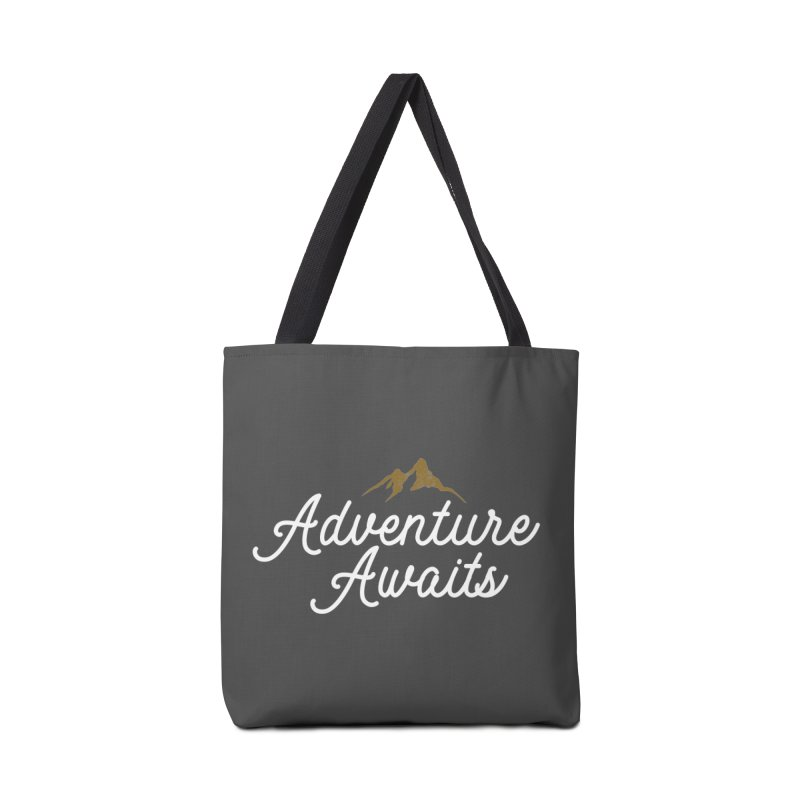 Adventure Awaits Accessories Tote Bag Bag by Katie Rose's Artist Shop