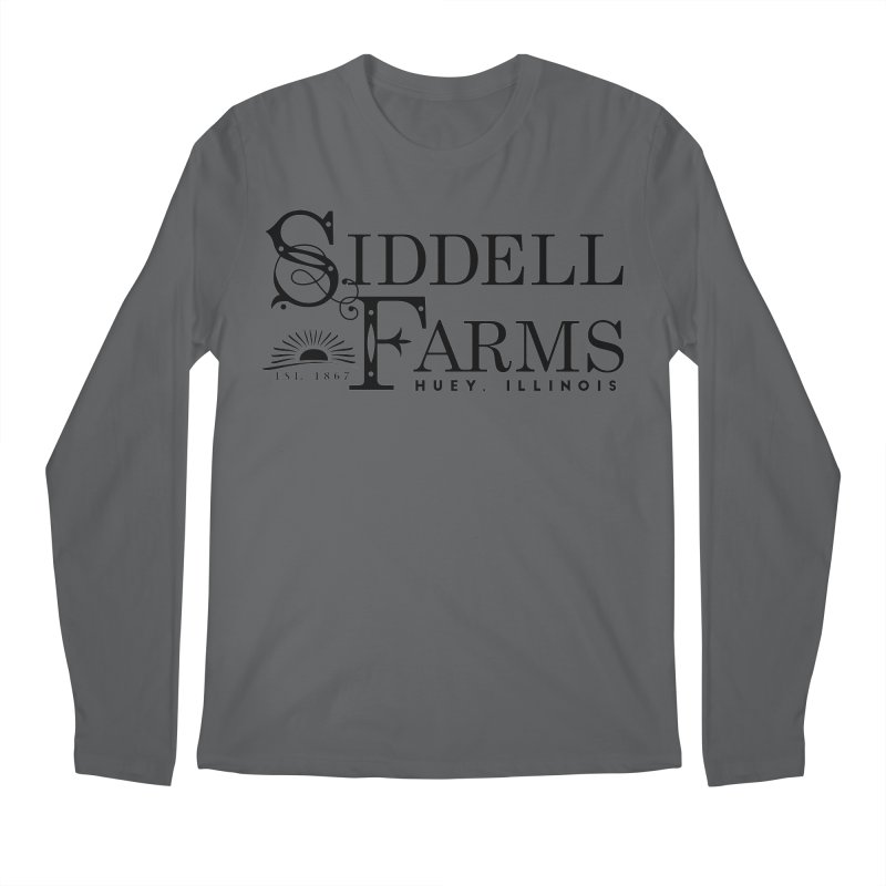 Siddell Farms Men's Regular Longsleeve T-Shirt by Katie Rose's Artist Shop