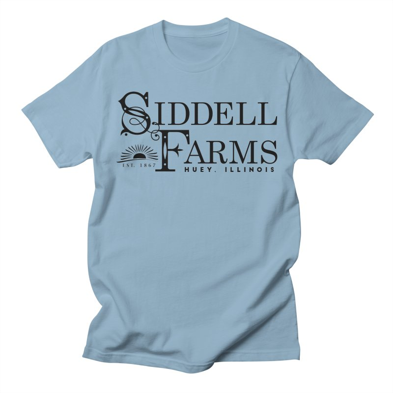 Siddell Farms Men's Regular T-Shirt by Katie Rose's Artist Shop
