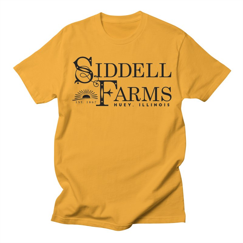 Siddell Farms Men's T-Shirt by Katie Rose's Artist Shop