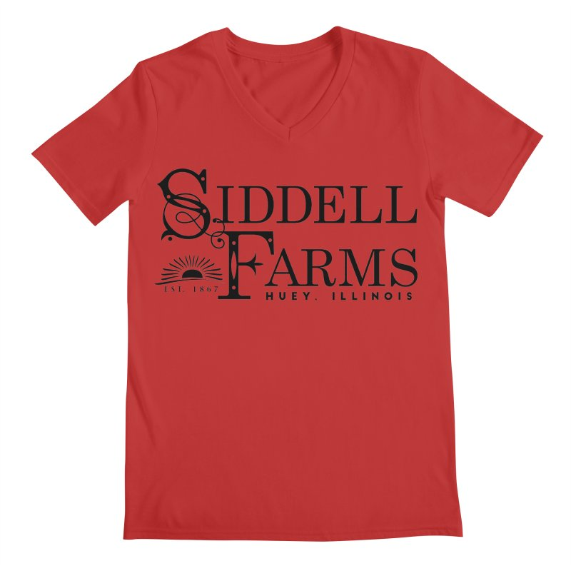 Siddell Farms Men's Regular V-Neck by Katie Rose's Artist Shop