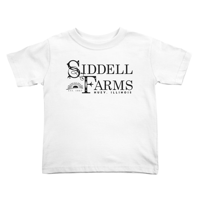 Siddell Farms Kids Toddler T-Shirt by Katie Rose's Artist Shop