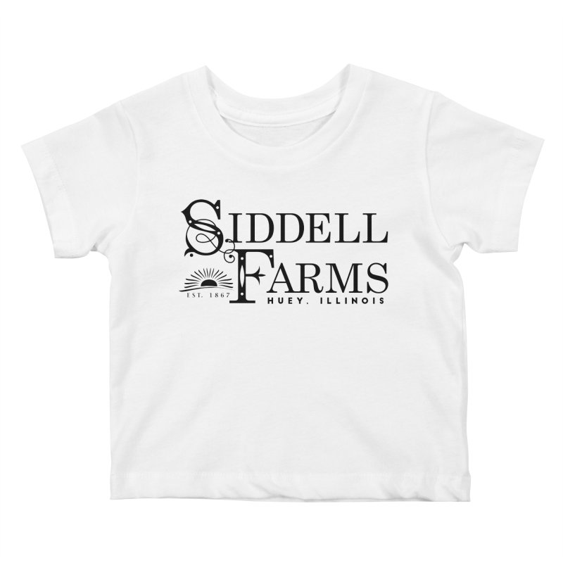 Siddell Farms Kids Baby T-Shirt by Katie Rose's Artist Shop