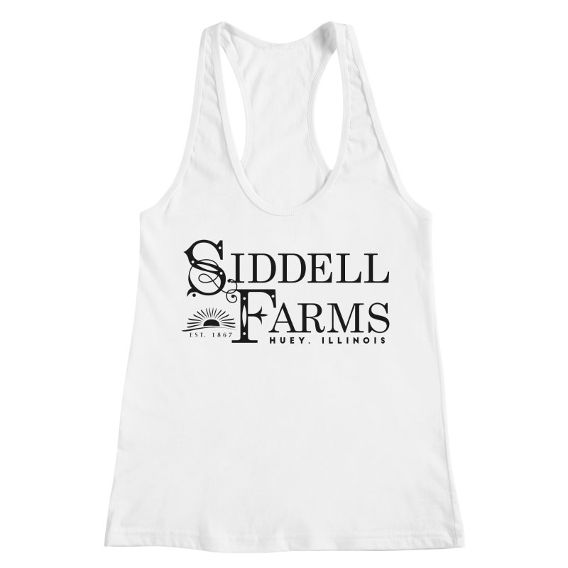 Siddell Farms Women's Racerback Tank by Katie Rose's Artist Shop