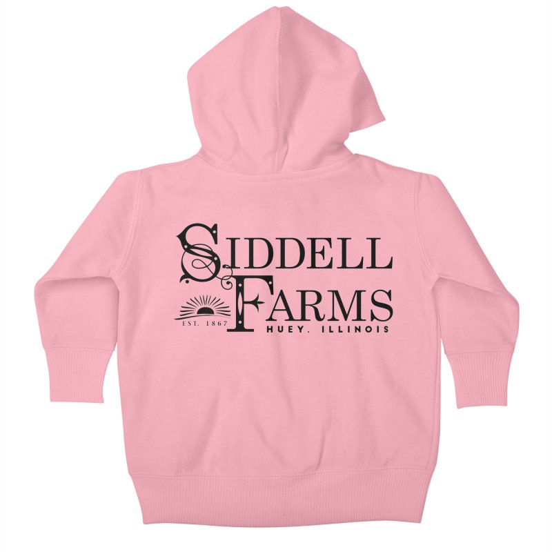Siddell Farms Kids Baby Zip-Up Hoody by Katie Rose's Artist Shop