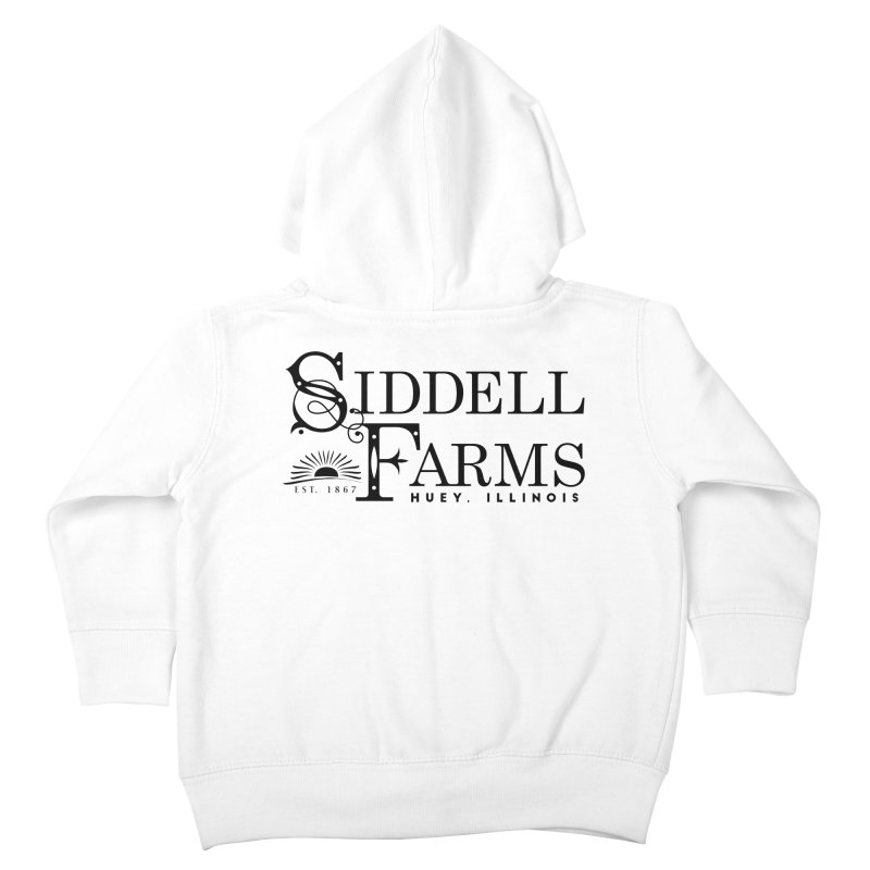 Siddell Farms Kids Toddler Zip-Up Hoody by Katie Rose's Artist Shop