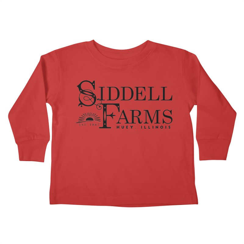 Siddell Farms Kids Toddler Longsleeve T-Shirt by Katie Rose's Artist Shop