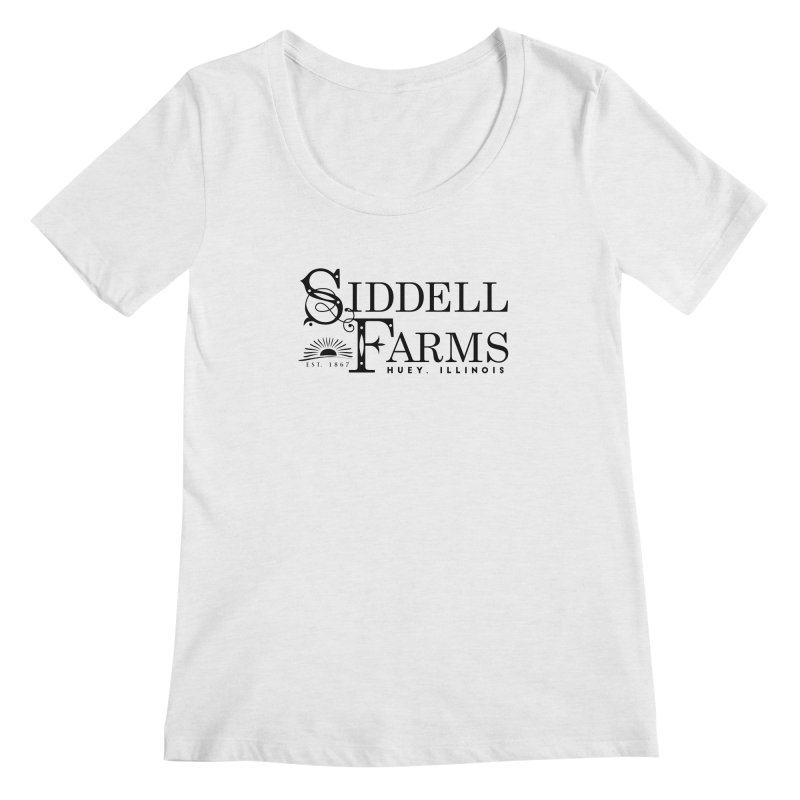 Siddell Farms Women's Regular Scoop Neck by Katie Rose's Artist Shop