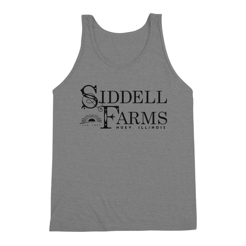 Siddell Farms Men's Triblend Tank by Katie Rose's Artist Shop