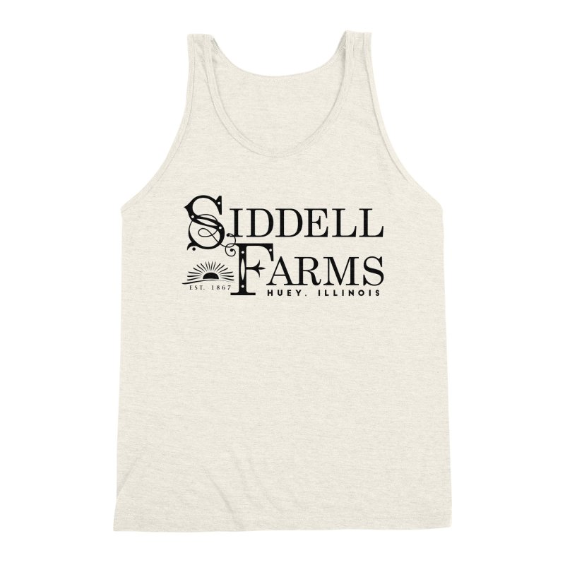 Siddell Farms Men's Triblend Tank by Katie Rose's Artist Shop