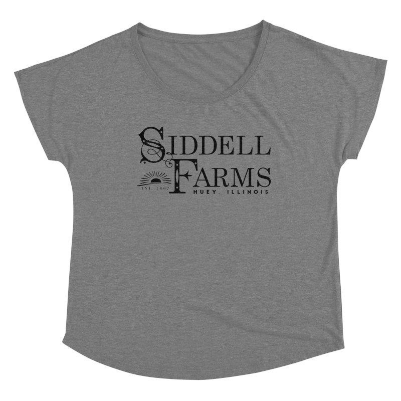Siddell Farms Women's Scoop Neck by Katie Rose's Artist Shop
