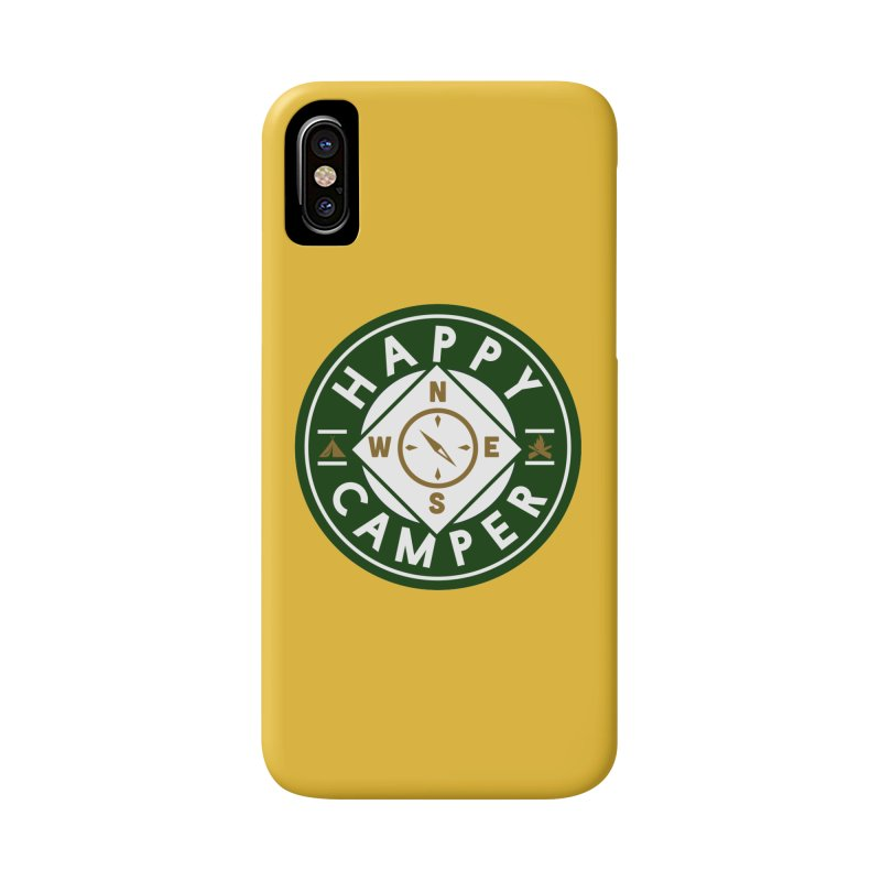 Happy Camper Accessories Phone Case by Katie Rose's Artist Shop