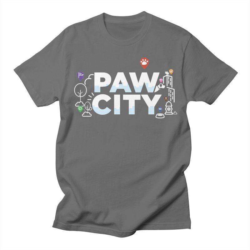Paw City Men's T-Shirt by Katie Rose's Artist Shop