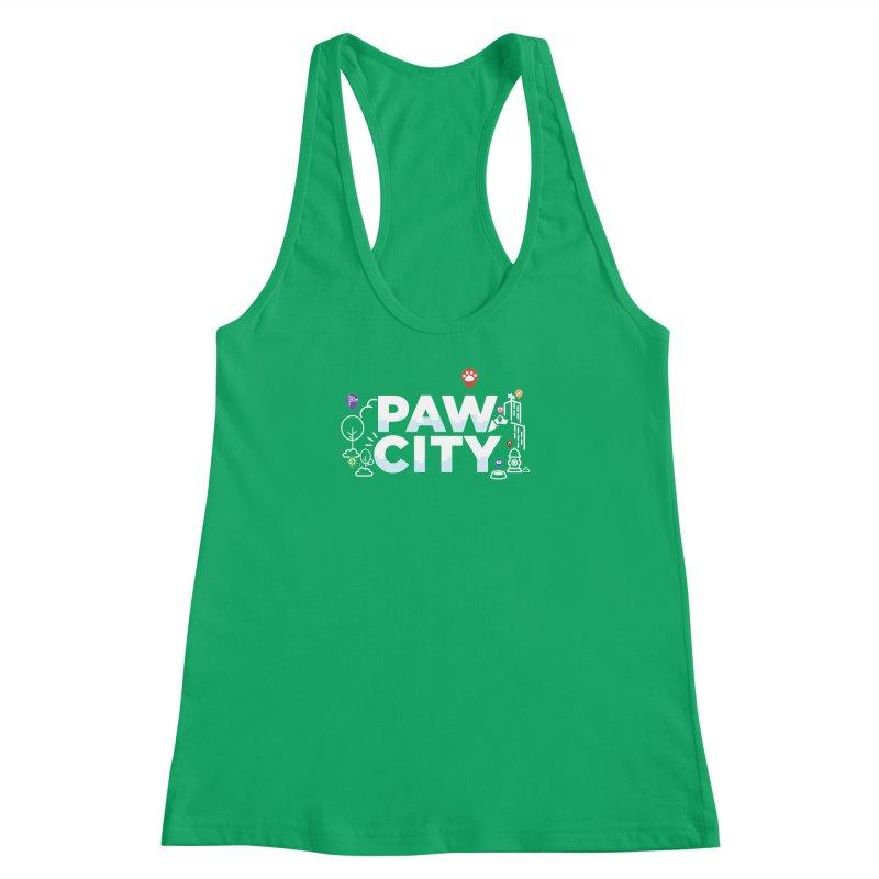 Paw City Women's Tank by Katie Rose's Artist Shop