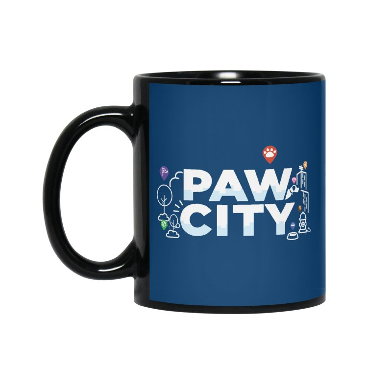Paw City Accessories Standard Mug by Katie Rose's Artist Shop