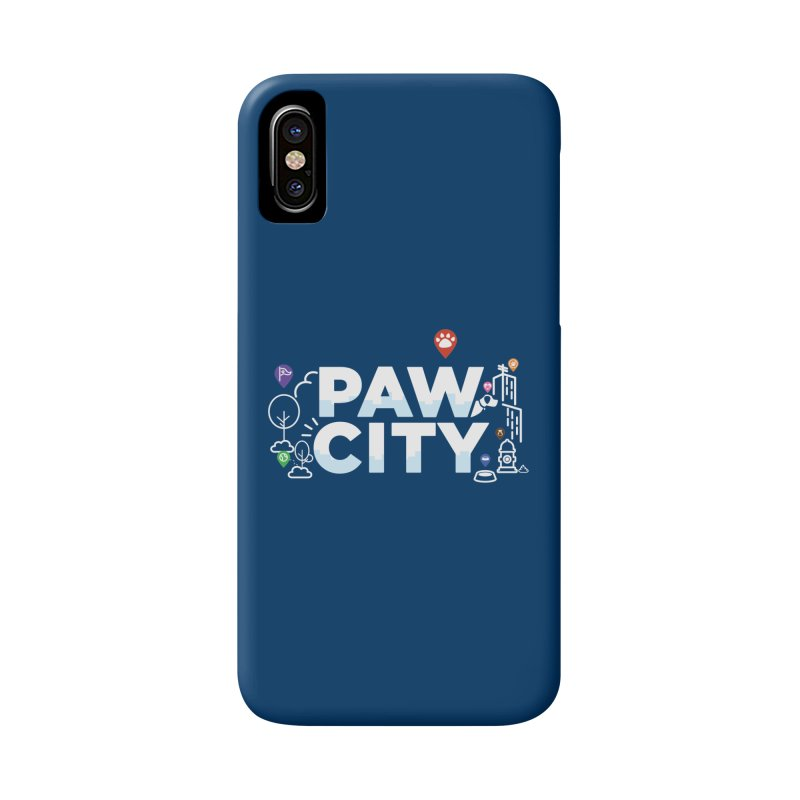 Paw City Accessories Phone Case by Katie Rose's Artist Shop