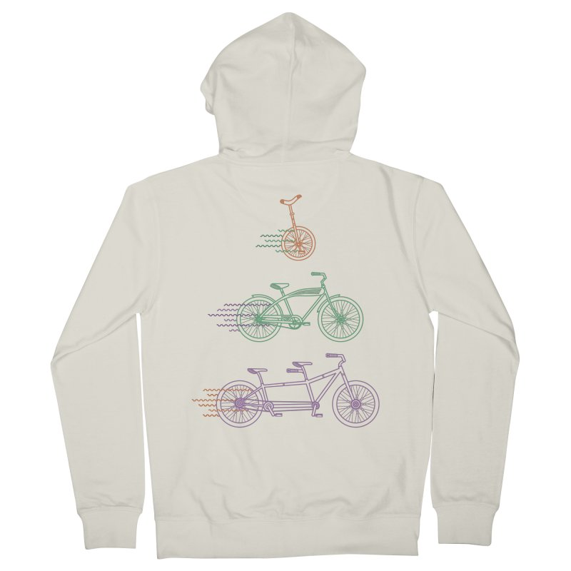 Here We Go Men's Zip-Up Hoody by Kat Manor's Artist Shop