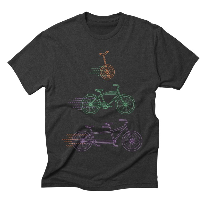 Here We Go Men's Triblend T-shirt by Kat Manor's Artist Shop