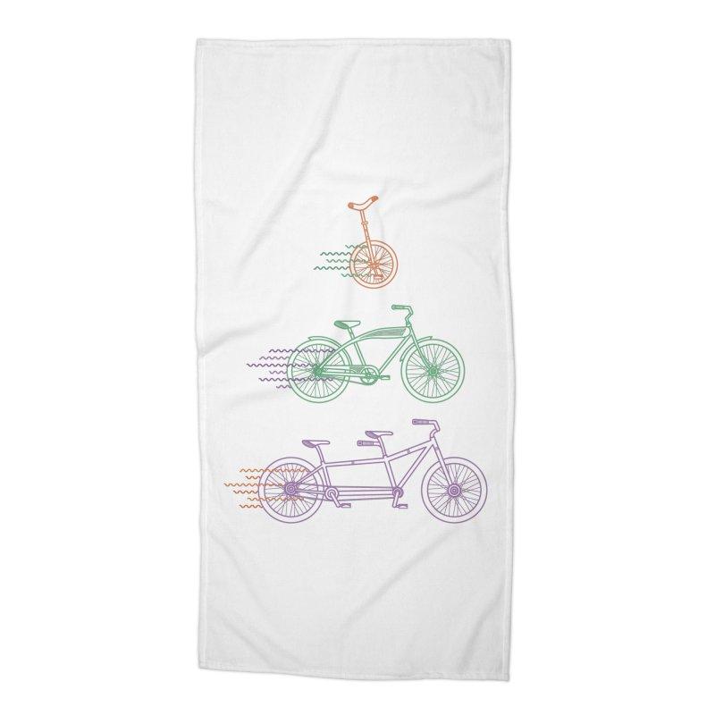 Here We Go Accessories Beach Towel by Kat Manor's Artist Shop